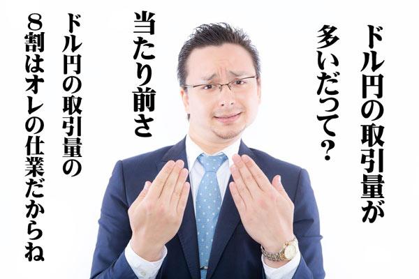 FX ドル円 特徴