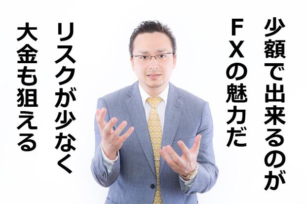 FX 少額 リスク